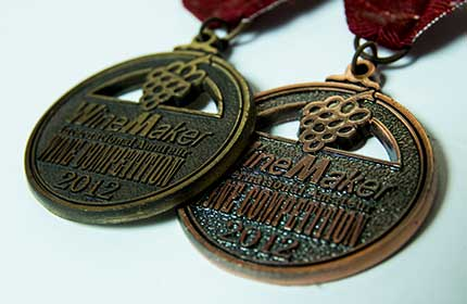 gold medal winemaking awards